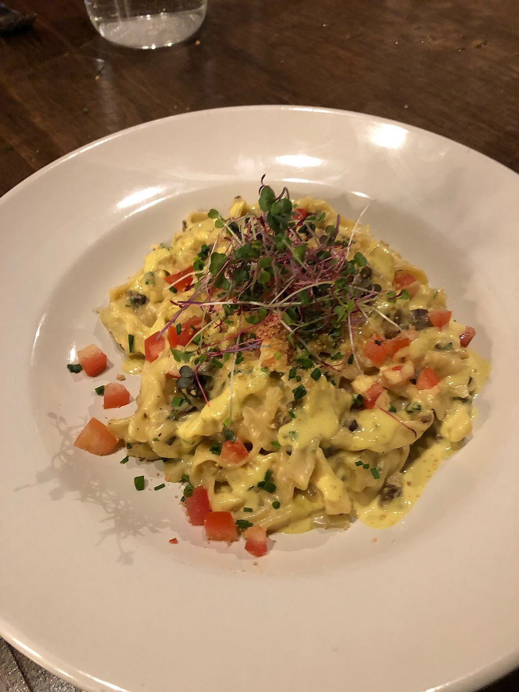 """Photo of Seasons Plant Based Bistro  by <a href=""""/members/profile/Levi"""">Levi</a> <br/>Linguine  <br/> January 26, 2018  - <a href='/contact/abuse/image/104318/351167'>Report</a>"""