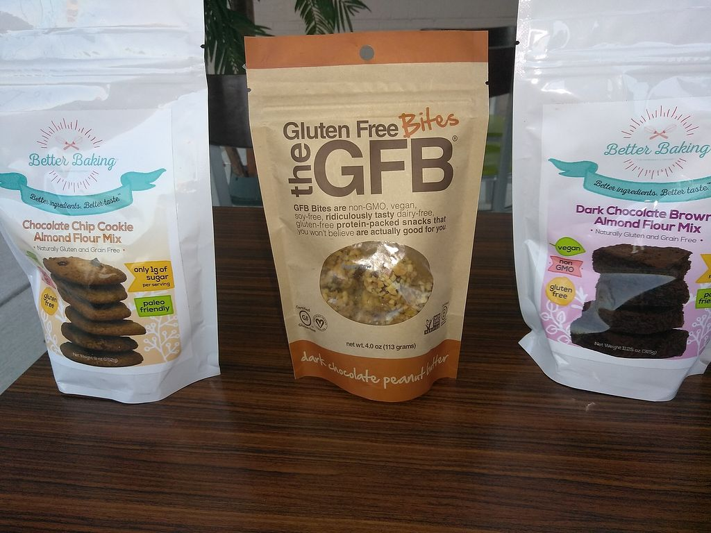 """Photo of Veggininis Paradise Cafe  by <a href=""""/members/profile/VeggininisCafe"""">VeggininisCafe</a> <br/>Gluten free soy free Snacks <br/> November 5, 2017  - <a href='/contact/abuse/image/104320/322286'>Report</a>"""
