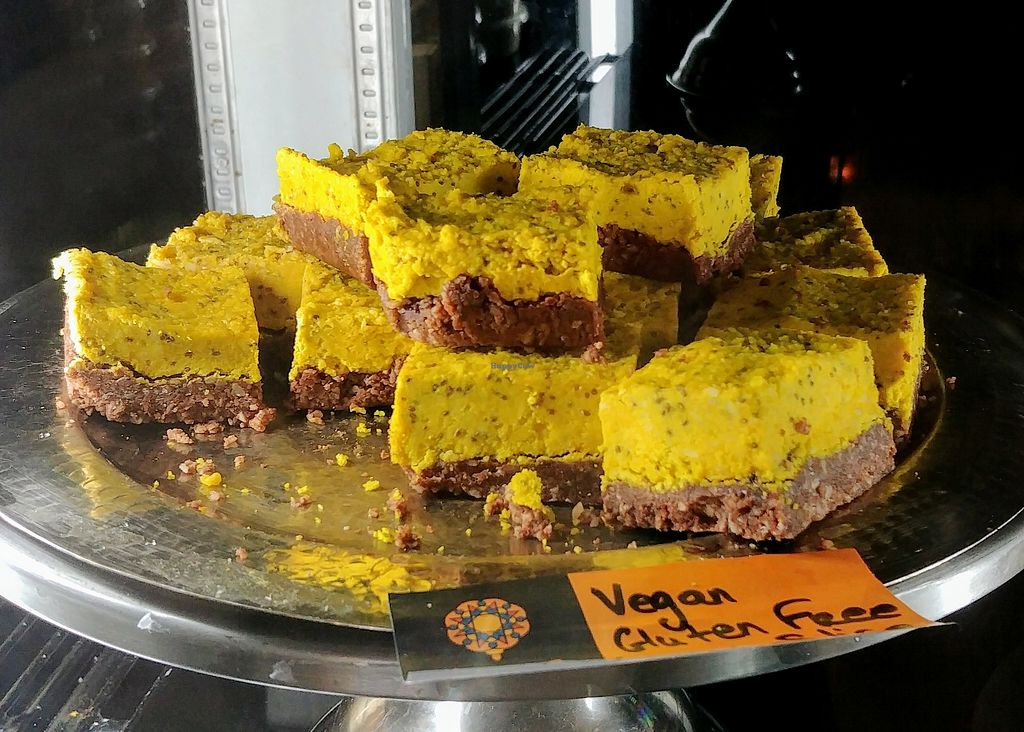 """Photo of CLOSED: Moroccan Deli-cacy  by <a href=""""/members/profile/karlaess"""">karlaess</a> <br/>Vegan slice <br/> February 10, 2018  - <a href='/contact/abuse/image/104350/357148'>Report</a>"""