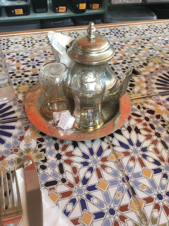 "Photo of CLOSED: Moroccan Deli-cacy  by <a href=""/members/profile/czarnajulka"">czarnajulka</a> <br/>morrocan mint tea <br/> March 18, 2018  - <a href='/contact/abuse/image/104350/372194'>Report</a>"