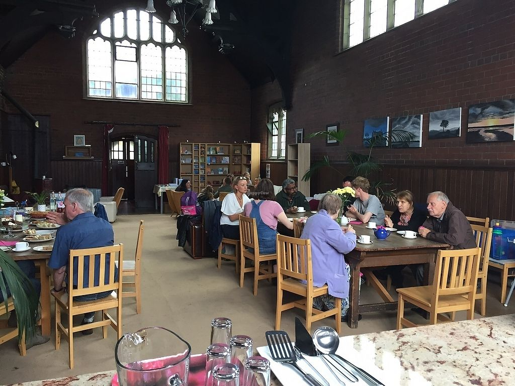 """Photo of World Peace Cafe  by <a href=""""/members/profile/PaulHarrison"""">PaulHarrison</a> <br/>The cafe space <br/> November 8, 2017  - <a href='/contact/abuse/image/104370/323299'>Report</a>"""