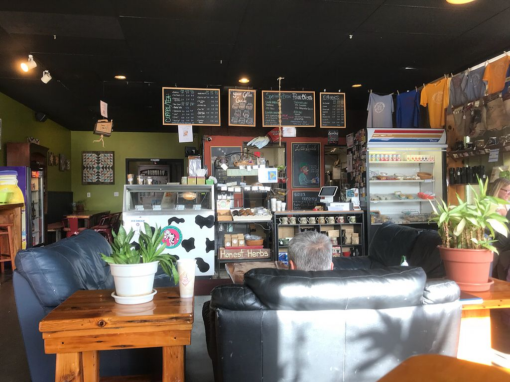 """Photo of ACOCA Coffee  by <a href=""""/members/profile/smallsweets"""">smallsweets</a> <br/>From the front of store table <br/> November 6, 2017  - <a href='/contact/abuse/image/104396/322602'>Report</a>"""