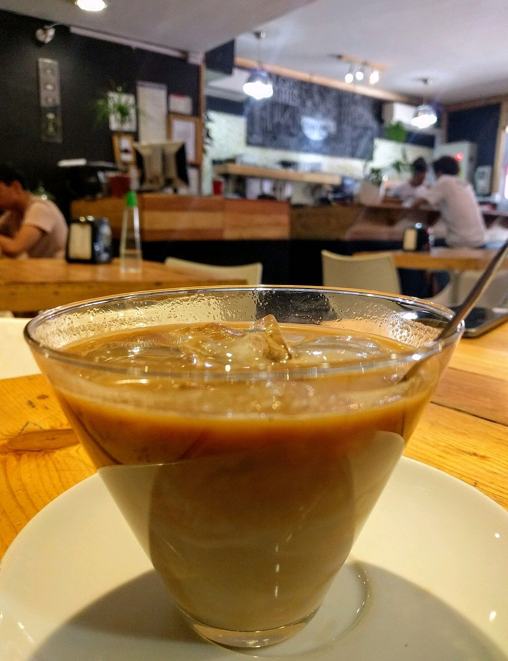 """Photo of Canamo Coffee  by <a href=""""/members/profile/The%20Hungry%20Vegan"""">The Hungry Vegan</a> <br/>Soy Latte <br/> January 7, 2018  - <a href='/contact/abuse/image/104397/344107'>Report</a>"""