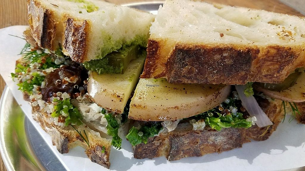"Photo of Joe's Sandwich Bar  by <a href=""/members/profile/eric"">eric</a> <br/>Smokey potato sandwich <br/> November 7, 2017  - <a href='/contact/abuse/image/104399/322799'>Report</a>"