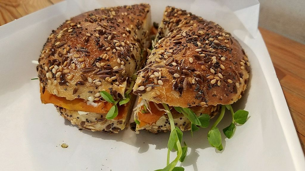 "Photo of Joe's Sandwich Bar  by <a href=""/members/profile/eric"">eric</a> <br/>salmon bagel <br/> November 7, 2017  - <a href='/contact/abuse/image/104399/322845'>Report</a>"
