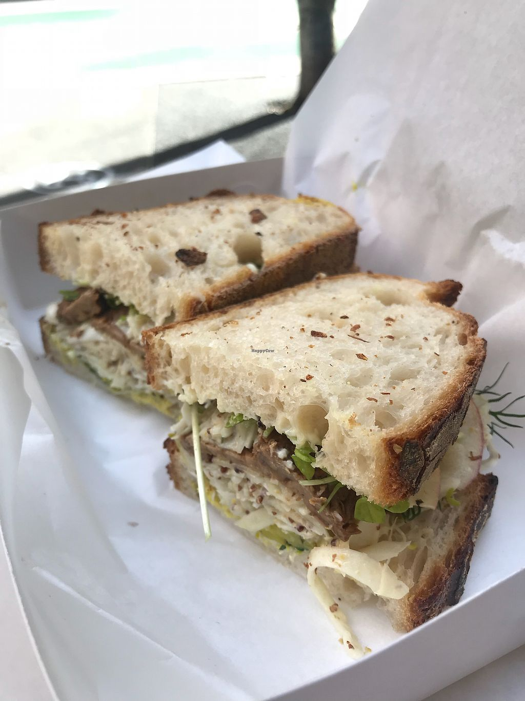 "Photo of Joe's Sandwich Bar  by <a href=""/members/profile/JessPhillippi"">JessPhillippi</a> <br/>Tempeh Rueben  <br/> February 28, 2018  - <a href='/contact/abuse/image/104399/364697'>Report</a>"