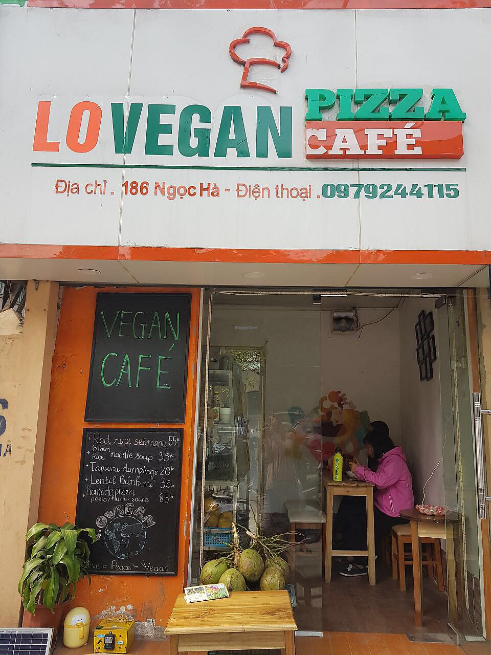 "Photo of Lovegan  by <a href=""/members/profile/Subra"">Subra</a> <br/>Small vegan cafe with awesome food <br/> December 26, 2017  - <a href='/contact/abuse/image/104415/339110'>Report</a>"