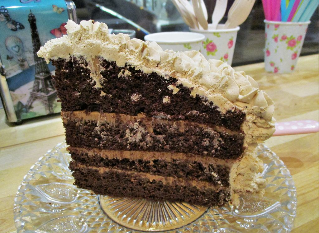 "Photo of Jo and Nana Cakes  by <a href=""/members/profile/ConnieB"">ConnieB</a> <br/>Chocolate and speculoos layer cake <br/> November 25, 2017  - <a href='/contact/abuse/image/104440/328994'>Report</a>"