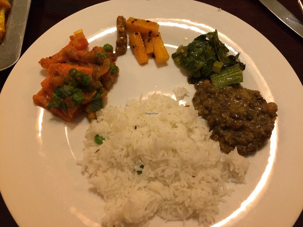 """Photo of The Everest Kitchen  by <a href=""""/members/profile/Arti"""">Arti</a> <br/>Delicious things from daal bhaat that work very well together <br/> February 3, 2018  - <a href='/contact/abuse/image/104447/354421'>Report</a>"""