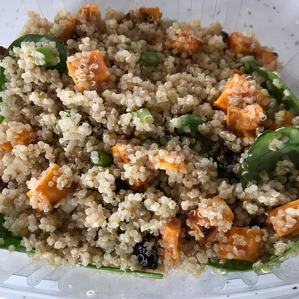 """Photo of Shayna B's By The Sea  by <a href=""""/members/profile/Sarah%20P"""">Sarah P</a> <br/>Quinoa salad <br/> February 27, 2018  - <a href='/contact/abuse/image/104454/364502'>Report</a>"""