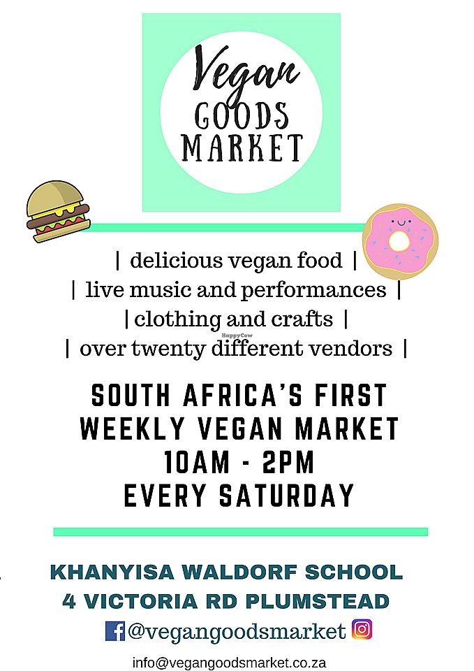 """Photo of Vegan Goods Market  by <a href=""""/members/profile/vegans"""">vegans</a> <br/>Poster <br/> November 9, 2017  - <a href='/contact/abuse/image/104469/323541'>Report</a>"""