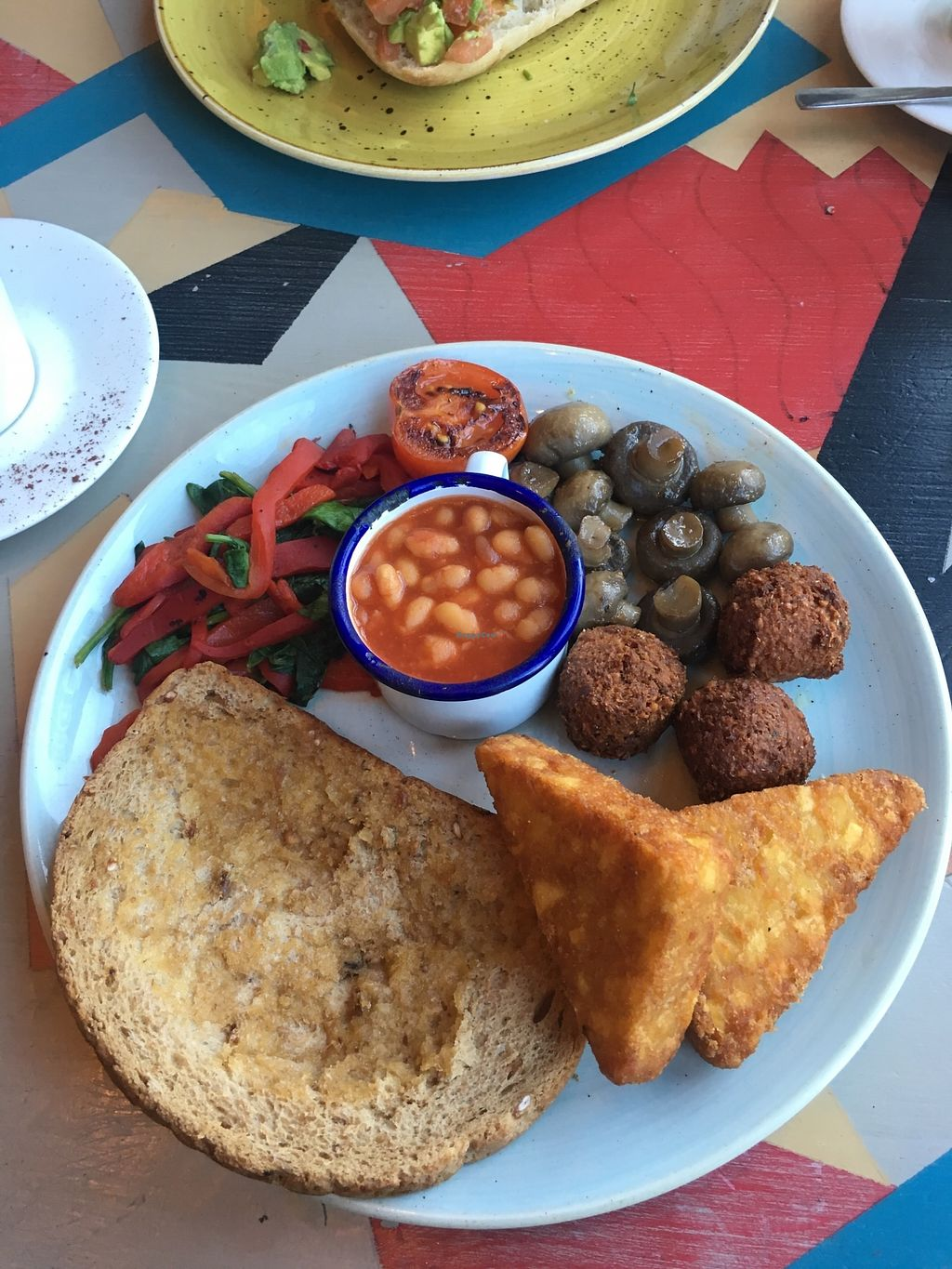 "Photo of Metro Lounge  by <a href=""/members/profile/Danmiddleton"">Danmiddleton</a> <br/>Vegan breakfast 