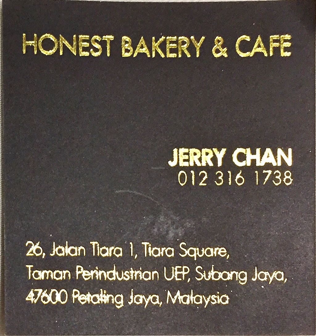 """Photo of Honesty Bakery & Cafe  by <a href=""""/members/profile/ChiamLongThiam"""">ChiamLongThiam</a> <br/>Address & Contact <br/> November 8, 2017  - <a href='/contact/abuse/image/104495/323144'>Report</a>"""