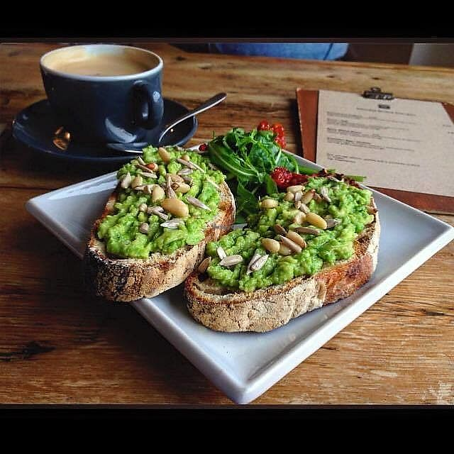 """Photo of Square Peg Coffee House  by <a href=""""/members/profile/charclothier"""">charclothier</a> <br/>avo on toast vegan style  <br/> November 10, 2017  - <a href='/contact/abuse/image/104507/323760'>Report</a>"""