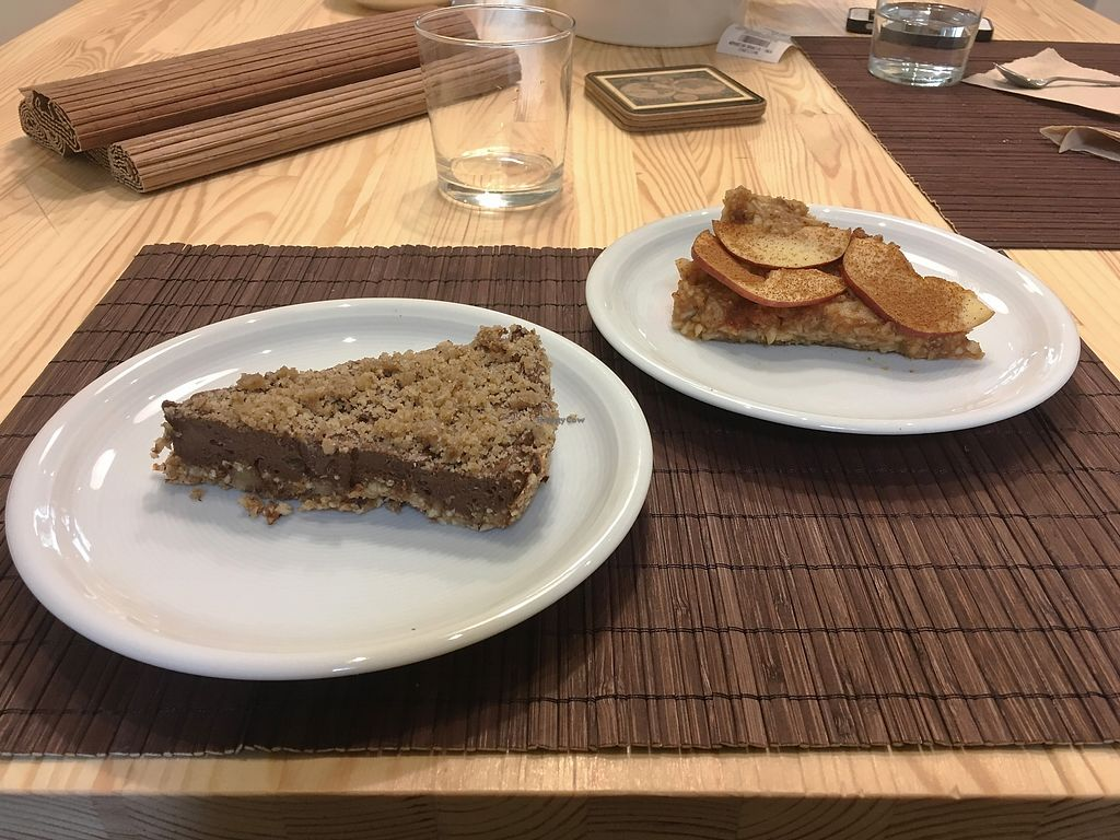 """Photo of Peas  by <a href=""""/members/profile/Alina%26Deian"""">Alina&Deian</a> <br/>Chocolate cake and apple cake <br/> December 4, 2017  - <a href='/contact/abuse/image/104532/332287'>Report</a>"""