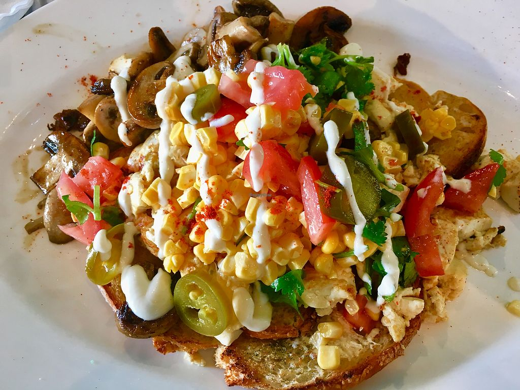 "Photo of Nature Cafe/Bar  by <a href=""/members/profile/bearhouse5"">bearhouse5</a> <br/>Scrambled Mexican Tofu  <br/> January 2, 2018  - <a href='/contact/abuse/image/104563/341966'>Report</a>"