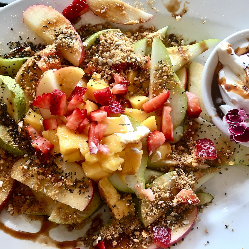 "Photo of Nature Cafe/Bar  by <a href=""/members/profile/bearhouse5"">bearhouse5</a> <br/>Fruit Nachos  <br/> January 2, 2018  - <a href='/contact/abuse/image/104563/341968'>Report</a>"