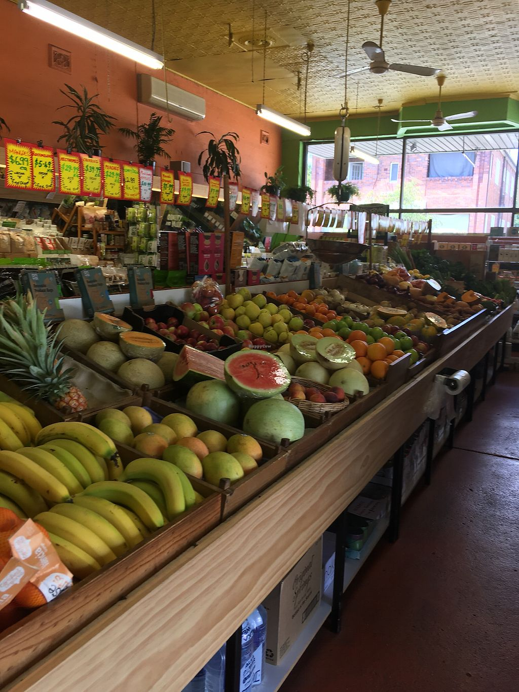 """Photo of Summer Hill Organic Fruit Market  by <a href=""""/members/profile/Mslanei"""">Mslanei</a> <br/>Organic fruit and veg <br/> November 9, 2017  - <a href='/contact/abuse/image/104630/323554'>Report</a>"""