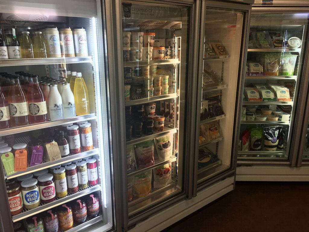 """Photo of Summer Hill Organic Fruit Market  by <a href=""""/members/profile/Mslanei"""">Mslanei</a> <br/>Well stocked fridge <br/> November 9, 2017  - <a href='/contact/abuse/image/104630/323555'>Report</a>"""