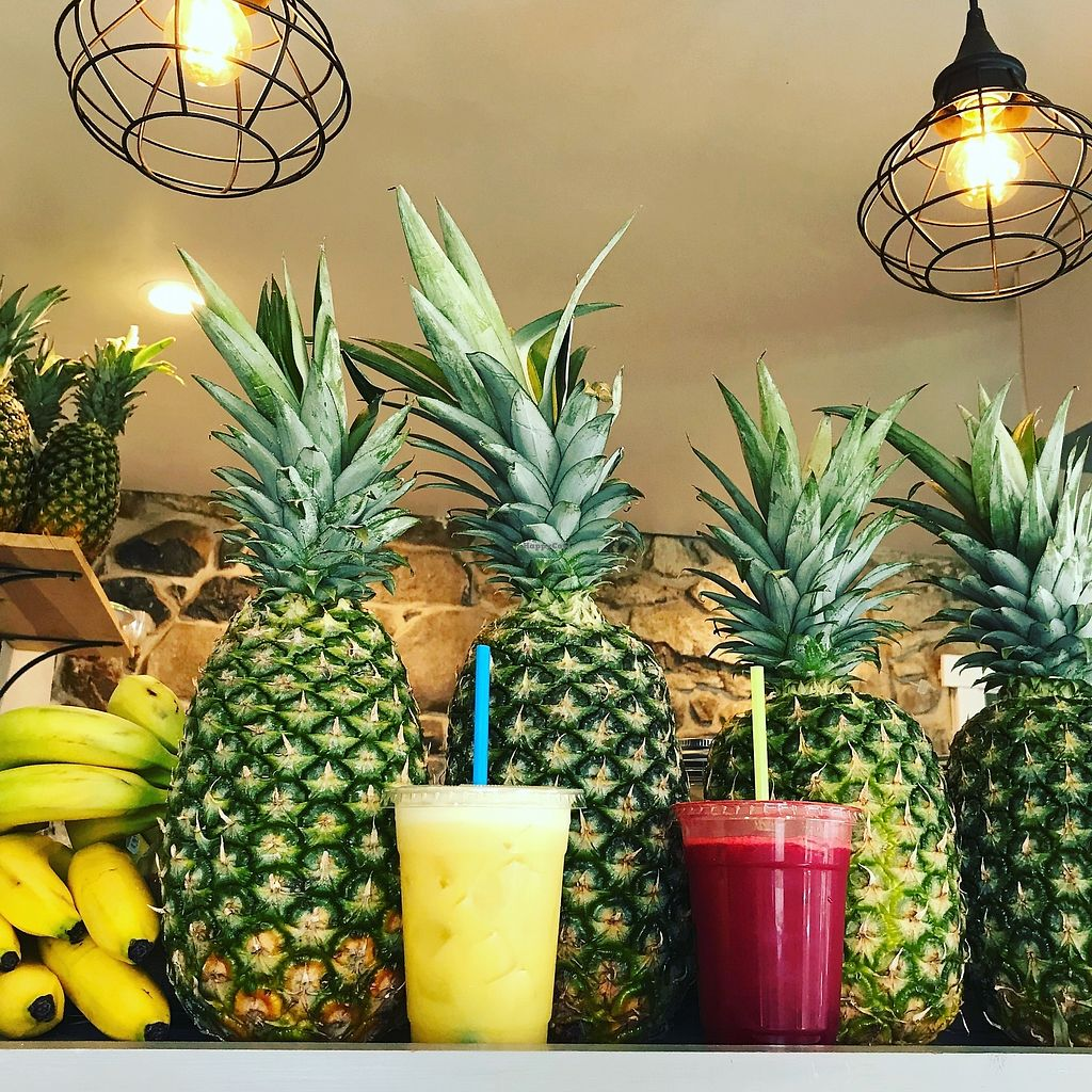 """Photo of Juniper Tree Juice Bar and Wellness  by <a href=""""/members/profile/JuniperTree"""">JuniperTree</a> <br/>Fresh juices <br/> March 4, 2018  - <a href='/contact/abuse/image/104632/366454'>Report</a>"""