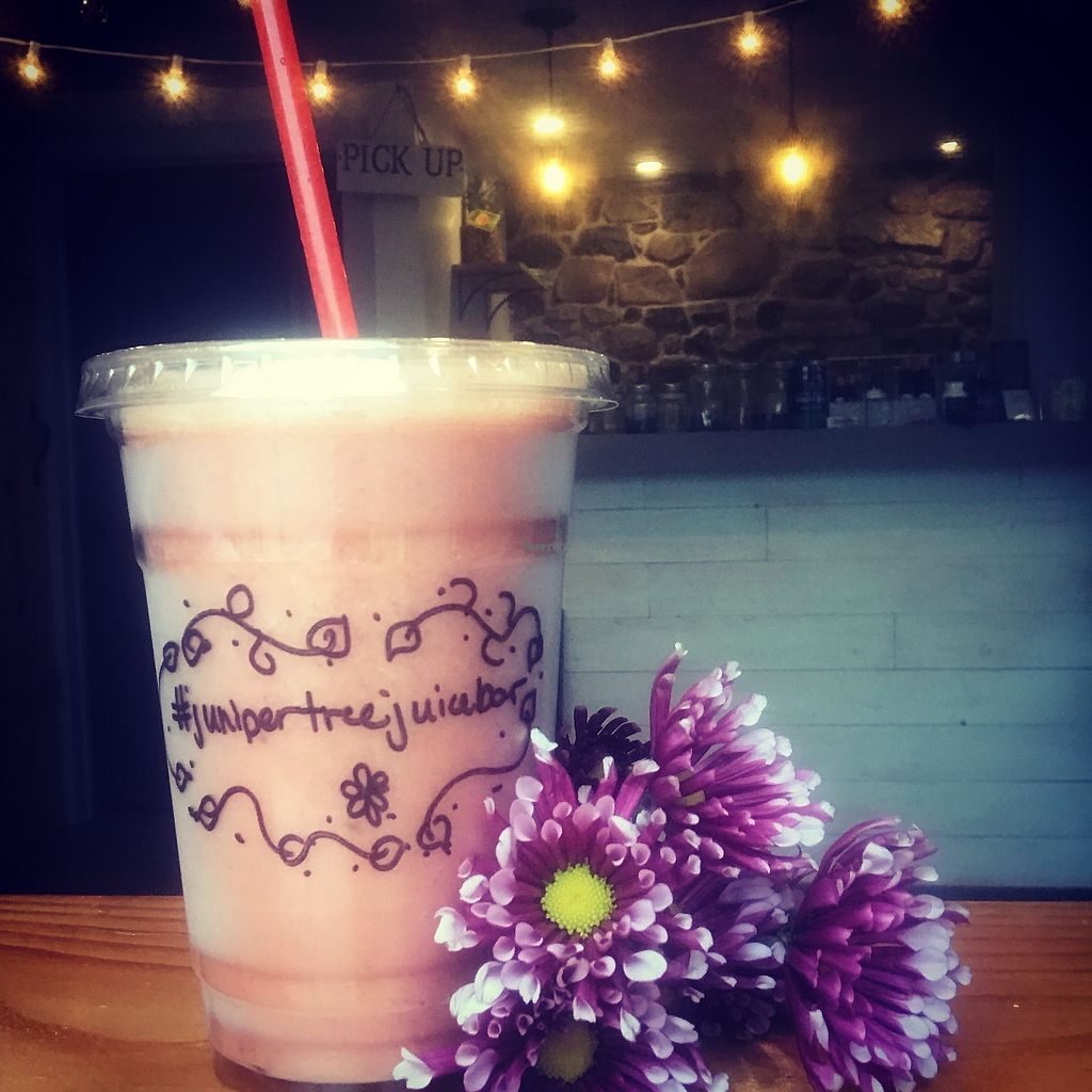 """Photo of Juniper Tree Juice Bar and Wellness  by <a href=""""/members/profile/JuniperTree"""">JuniperTree</a> <br/>Smoothies <br/> March 4, 2018  - <a href='/contact/abuse/image/104632/366455'>Report</a>"""