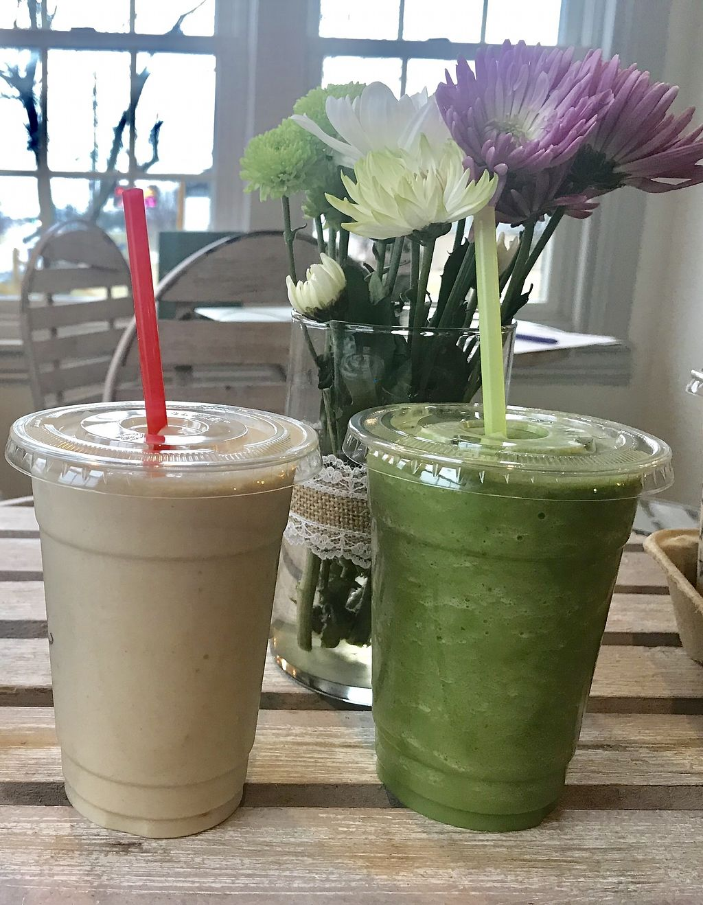 """Photo of Juniper Tree Juice Bar and Wellness  by <a href=""""/members/profile/JuniperTree"""">JuniperTree</a> <br/>Protein plant based <br/> March 4, 2018  - <a href='/contact/abuse/image/104632/366456'>Report</a>"""