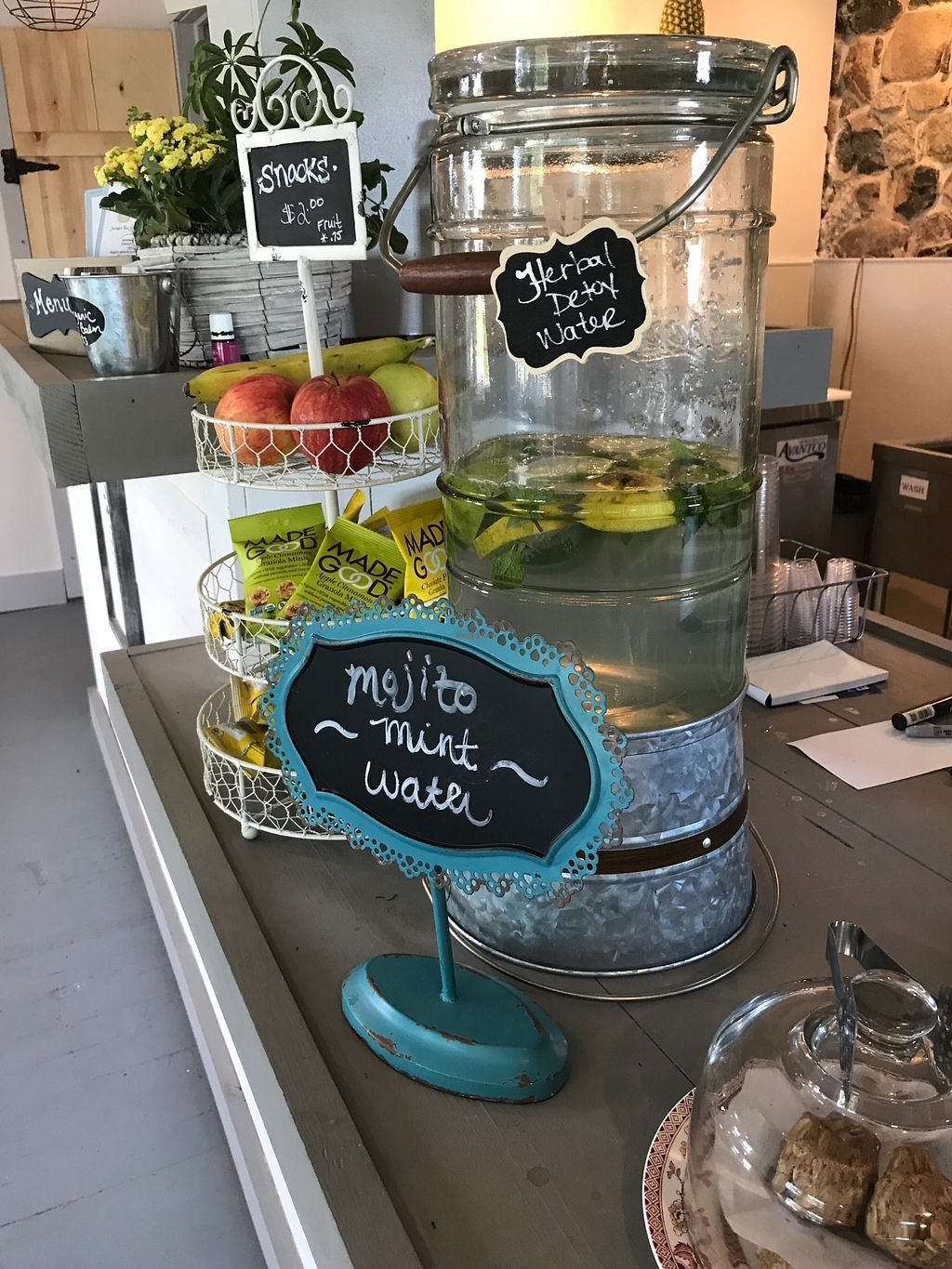 """Photo of Juniper Tree Juice Bar and Wellness  by <a href=""""/members/profile/JuniperTree"""">JuniperTree</a> <br/>Energy bites and grab and go vegan snacks <br/> March 4, 2018  - <a href='/contact/abuse/image/104632/366458'>Report</a>"""