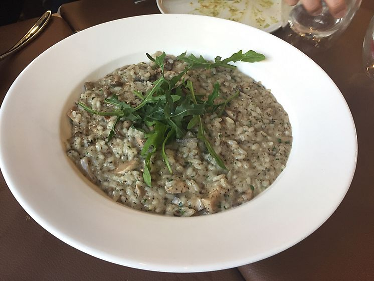 "Photo of Mirror and Vegan Concept  by <a href=""/members/profile/Ashni"">Ashni</a> <br/>wild mushroom risotto  <br/> January 26, 2018  - <a href='/contact/abuse/image/104638/351048'>Report</a>"