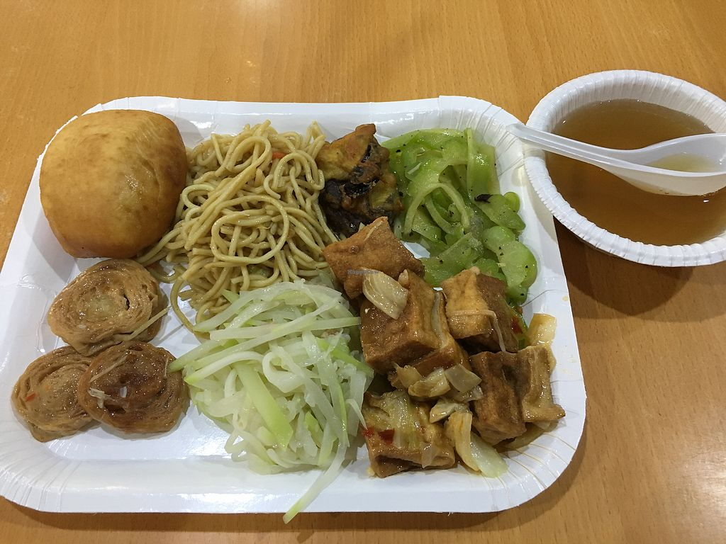 """Photo of Qi Lin Su Shi Guan  by <a href=""""/members/profile/RAVM"""">RAVM</a> <br/>My pick from the buffet. NT 84 <br/> December 4, 2017  - <a href='/contact/abuse/image/104640/332187'>Report</a>"""