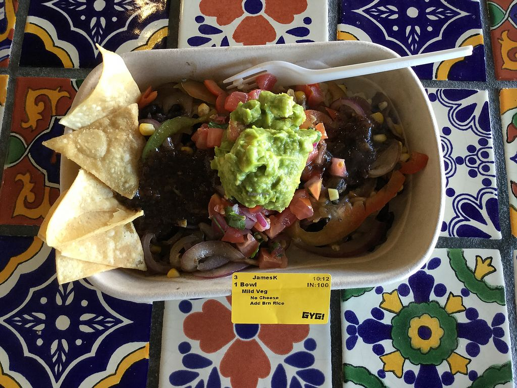 """Photo of Guzman y Gomez  by <a href=""""/members/profile/Mike%20Munsie"""">Mike Munsie</a> <br/>burrito bowl <br/> March 15, 2018  - <a href='/contact/abuse/image/104647/370879'>Report</a>"""