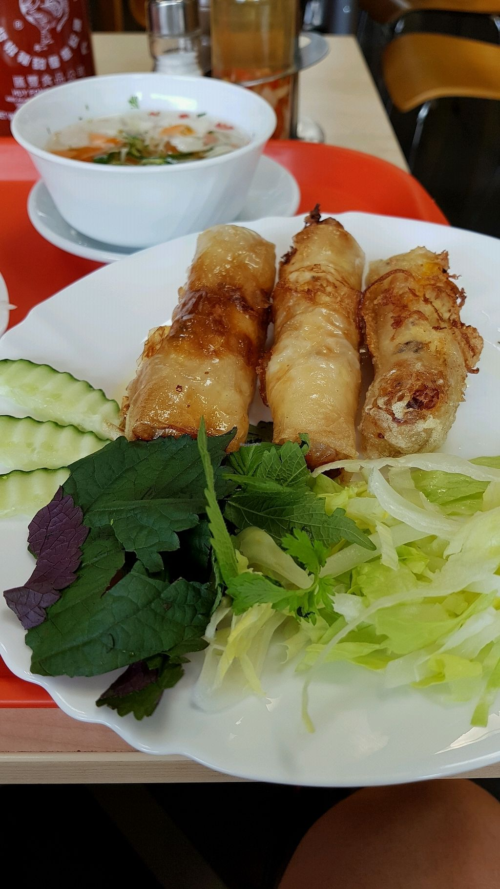 """Photo of Bang Tofu  by <a href=""""/members/profile/LukasBelicka"""">LukasBelicka</a> <br/>spring rolls <br/> November 9, 2017  - <a href='/contact/abuse/image/104657/323721'>Report</a>"""