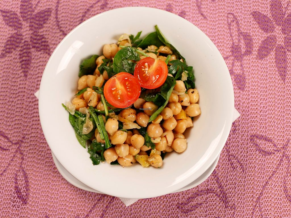 """Photo of Lalitana Restaurant  by <a href=""""/members/profile/lalitana"""">lalitana</a> <br/>Chickpea Salad <br/> November 10, 2017  - <a href='/contact/abuse/image/104679/324058'>Report</a>"""