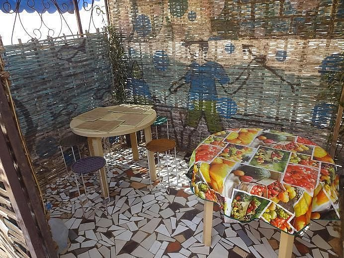 """Photo of Chez Tata buvette ESTI  by <a href=""""/members/profile/Gregory1991"""">Gregory1991</a> <br/>The small place where you can eat your dishes <br/> November 10, 2017  - <a href='/contact/abuse/image/104684/323845'>Report</a>"""