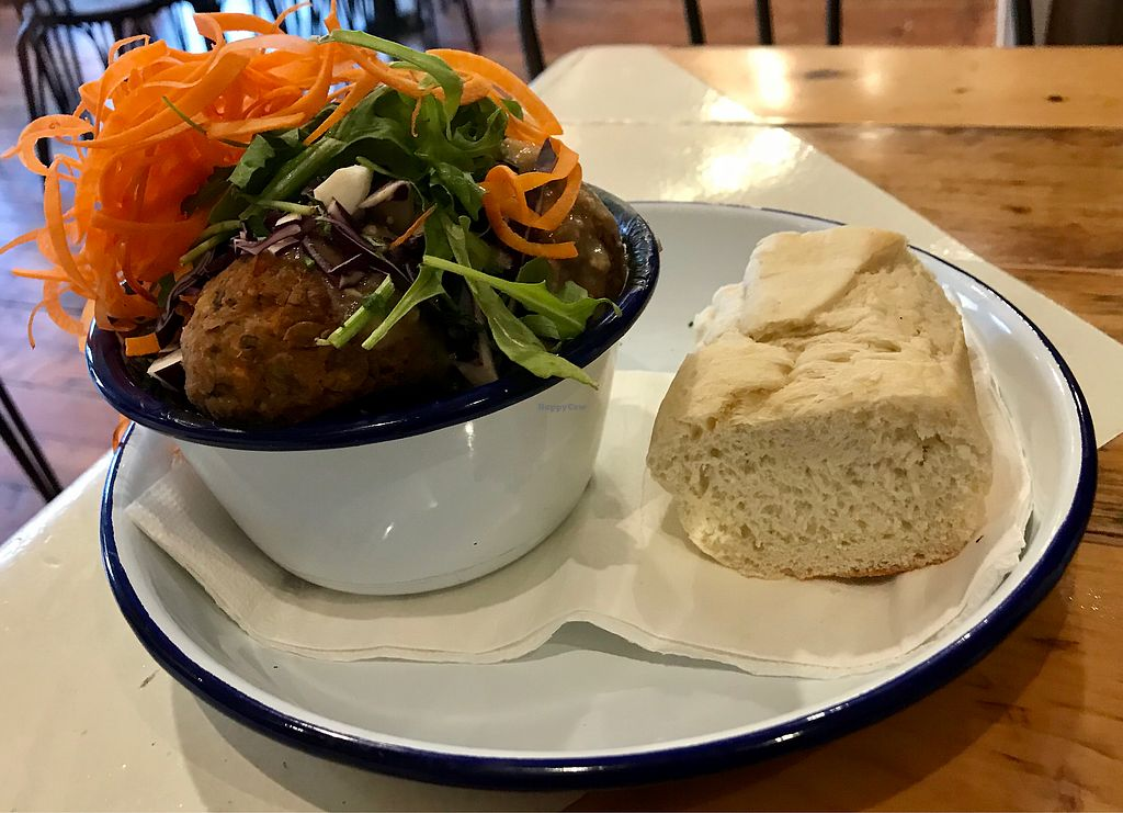 """Photo of Kofta Meatball Kitchen  by <a href=""""/members/profile/Shan-Shan"""">Shan-Shan</a> <br/>Vegan build your own bowl <br/> January 14, 2018  - <a href='/contact/abuse/image/104702/346734'>Report</a>"""
