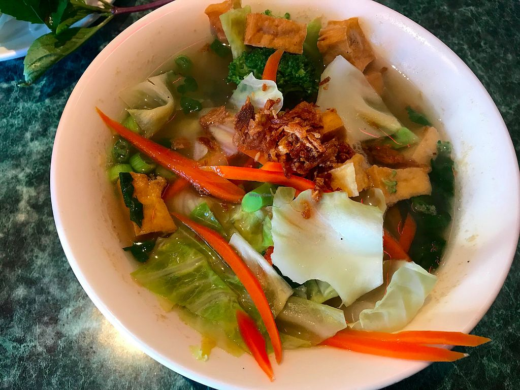 """Photo of Crazy Pho Cajun  by <a href=""""/members/profile/YanethGris"""">YanethGris</a> <br/>Vegan pho with tofu  <br/> January 25, 2018  - <a href='/contact/abuse/image/104708/350715'>Report</a>"""