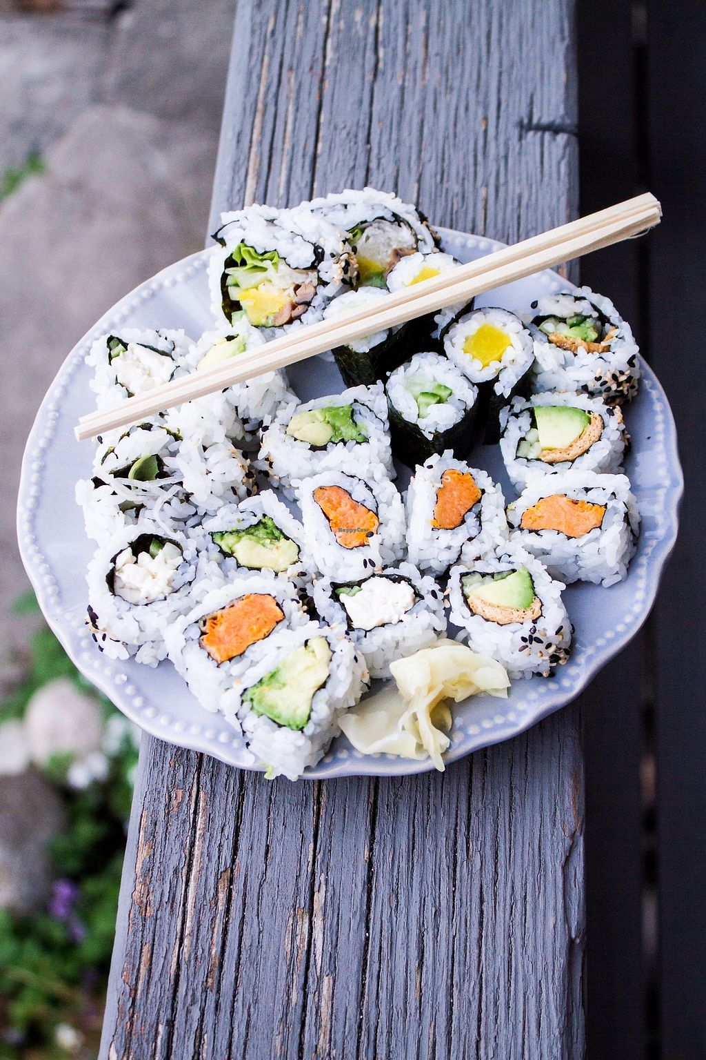 """Photo of Capilano Sushi  by <a href=""""/members/profile/jileila"""">jileila</a> <br/>Veggie Selection <br/> November 10, 2017  - <a href='/contact/abuse/image/104711/323779'>Report</a>"""