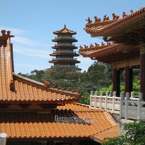 """Photo of Nan Tien Temple  by <a href=""""/members/profile/cvxmelody"""">cvxmelody</a> <br/>View of pagoda from inner temple <br/> December 24, 2009  - <a href='/contact/abuse/image/10471/3236'>Report</a>"""