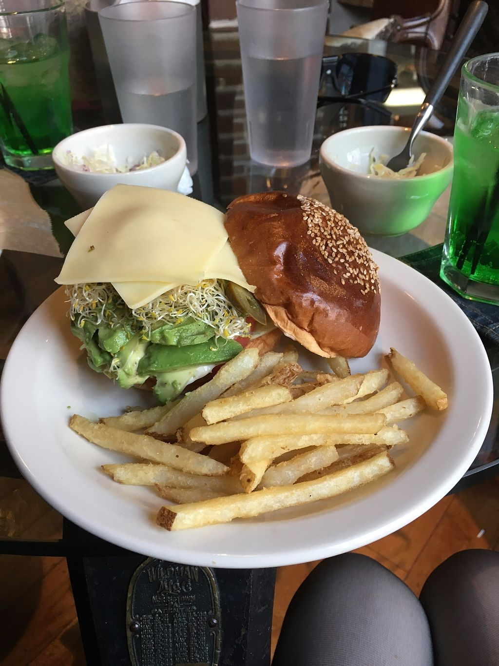 "Photo of San Francisco Peaks  by <a href=""/members/profile/cultparty"">cultparty</a> <br/>Fresh Vegetable Burger (note, non vegan cheese) <br/> November 11, 2017  - <a href='/contact/abuse/image/104725/324148'>Report</a>"