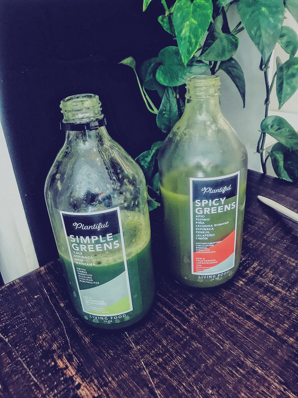 """Photo of Plantiful  by <a href=""""/members/profile/IndreArbataityte"""">IndreArbataityte</a> <br/>Green juices <br/> February 22, 2018  - <a href='/contact/abuse/image/104758/362519'>Report</a>"""
