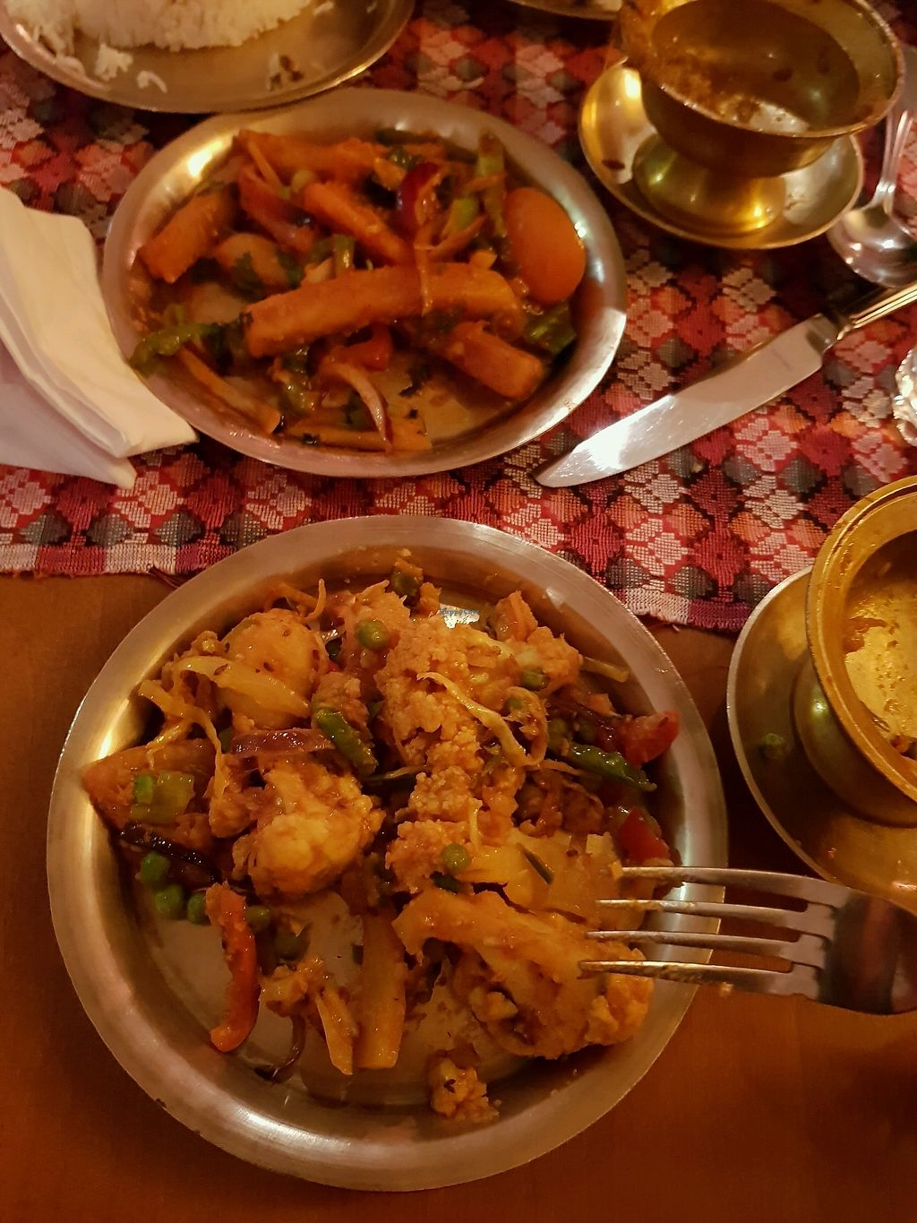 """Photo of The Yak & Yeti  by <a href=""""/members/profile/rachie18"""">rachie18</a> <br/>chilli chips and Nepali tarkari  <br/> March 17, 2018  - <a href='/contact/abuse/image/104817/372074'>Report</a>"""