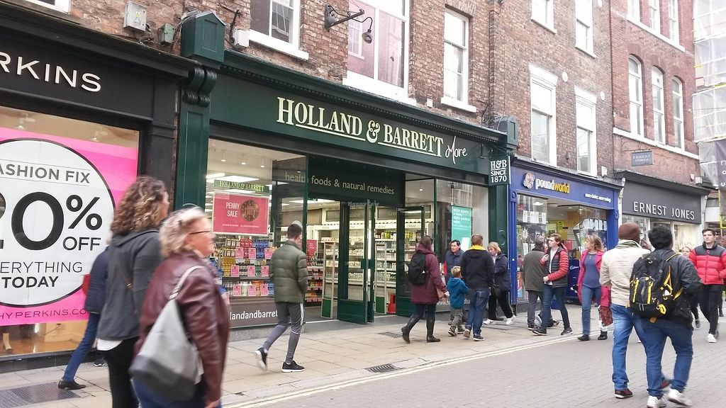 "Photo of Holland & Barrett  by <a href=""/members/profile/deadpledge"">deadpledge</a> <br/>Outside <br/> November 12, 2017  - <a href='/contact/abuse/image/104818/324668'>Report</a>"