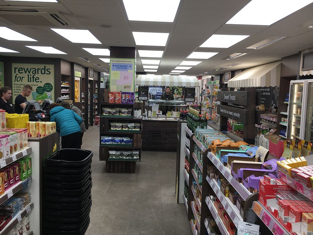 "Photo of Holland & Barrett  by <a href=""/members/profile/hack_man"">hack_man</a> <br/>Inside  <br/> December 23, 2017  - <a href='/contact/abuse/image/104818/338413'>Report</a>"