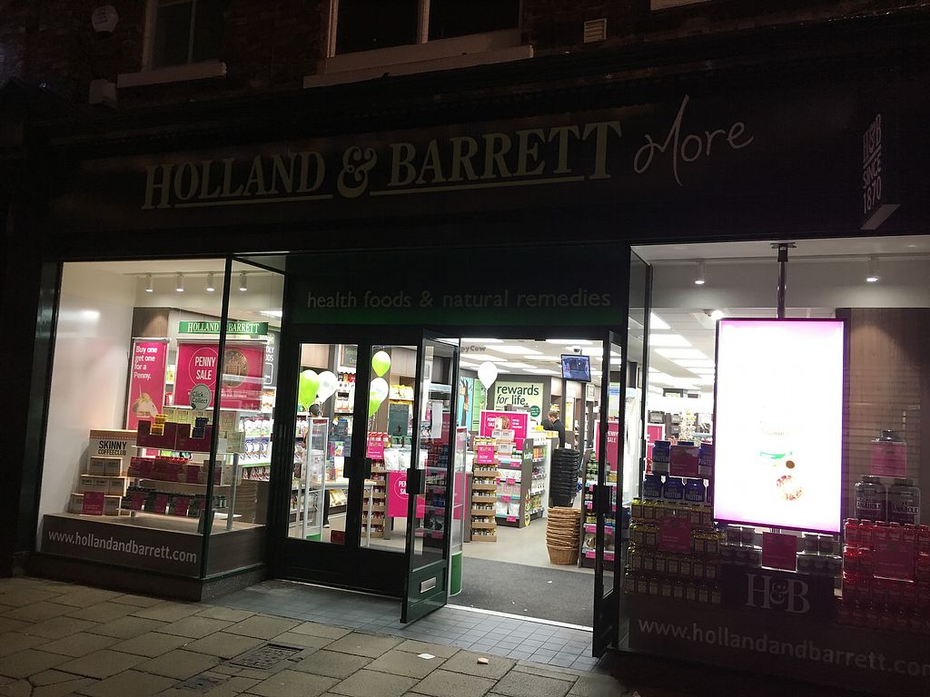 "Photo of Holland & Barrett  by <a href=""/members/profile/hack_man"">hack_man</a> <br/>Exterior  <br/> December 23, 2017  - <a href='/contact/abuse/image/104818/338414'>Report</a>"