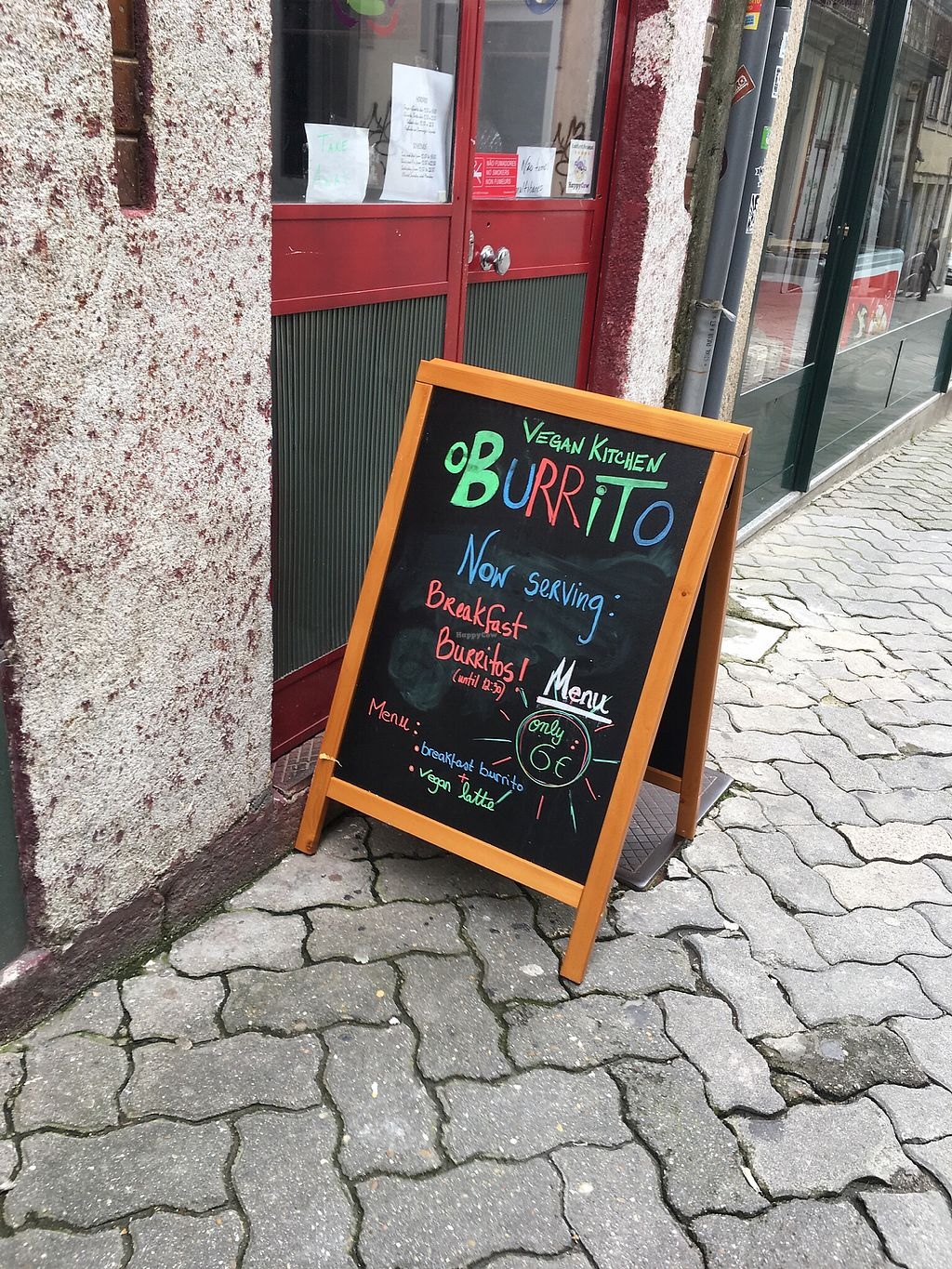 """Photo of O Burrito  by <a href=""""/members/profile/hack_man"""">hack_man</a> <br/>Board outside  <br/> April 13, 2018  - <a href='/contact/abuse/image/104857/385091'>Report</a>"""