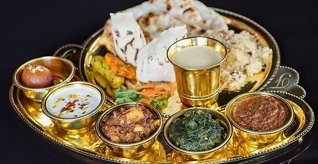 """Photo of Masala Darbar  by <a href=""""/members/profile/Nikolate"""">Nikolate</a> <br/>indian plate for 2  <br/> November 13, 2017  - <a href='/contact/abuse/image/104912/325069'>Report</a>"""