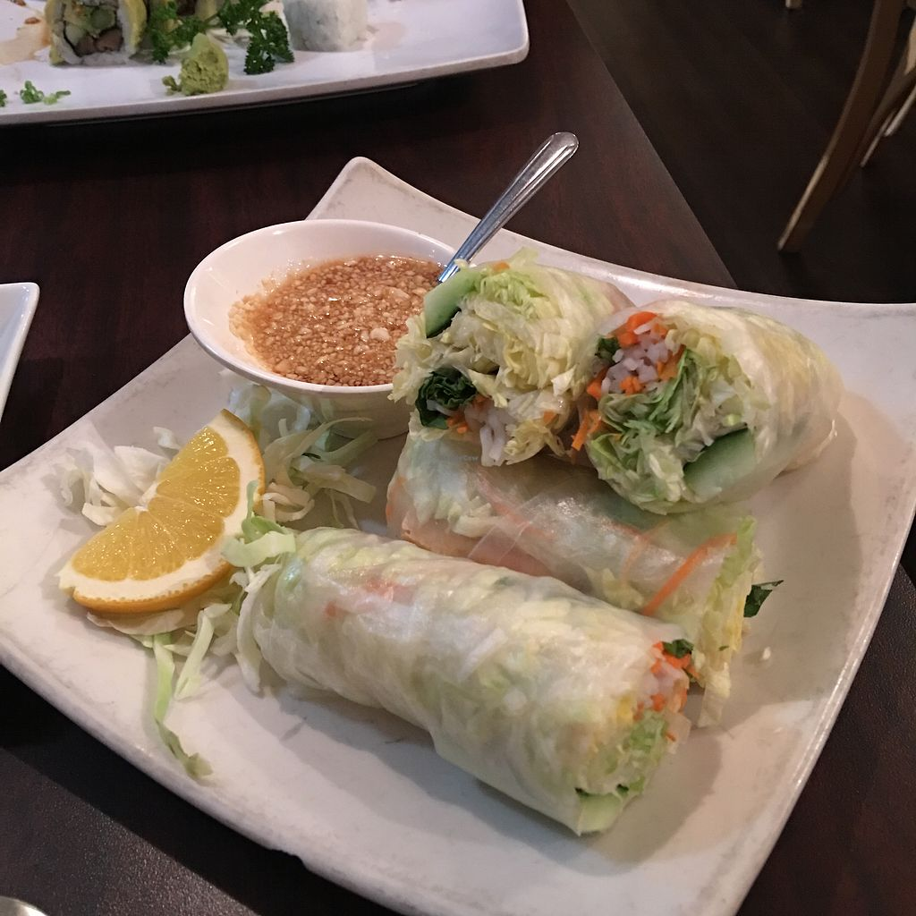 "Photo of Sa Wad Dee  by <a href=""/members/profile/ChereseTarter"">ChereseTarter</a> <br/>Fresh Rolls with Tofu <br/> November 13, 2017  - <a href='/contact/abuse/image/104922/324966'>Report</a>"