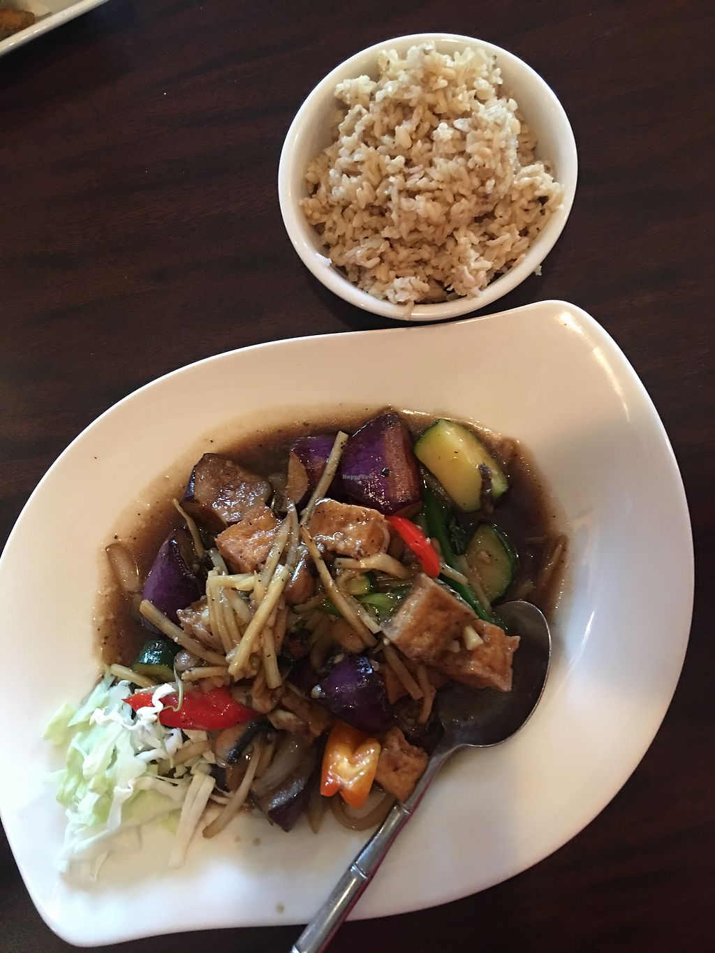 "Photo of Sa Wad Dee  by <a href=""/members/profile/ChereseTarter"">ChereseTarter</a> <br/>Thai Eggplant Dish <br/> November 13, 2017  - <a href='/contact/abuse/image/104922/324967'>Report</a>"