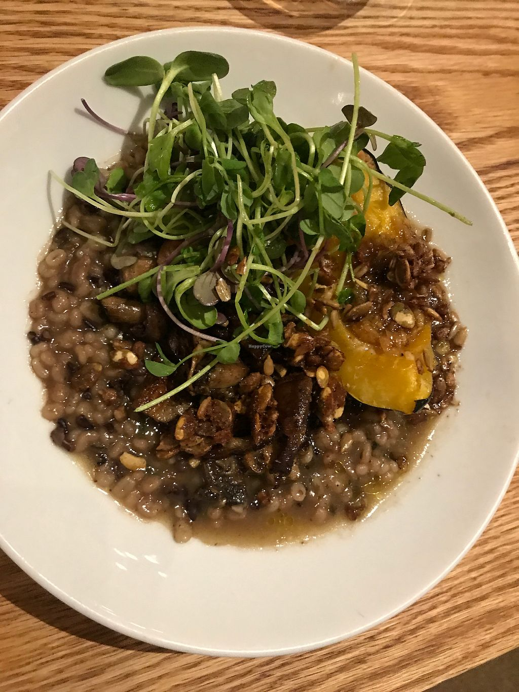 """Photo of Kerr Street Cafe  by <a href=""""/members/profile/Charliepenn"""">Charliepenn</a> <br/>Maple roasted acorn squash <br/> November 12, 2017  - <a href='/contact/abuse/image/104925/324937'>Report</a>"""