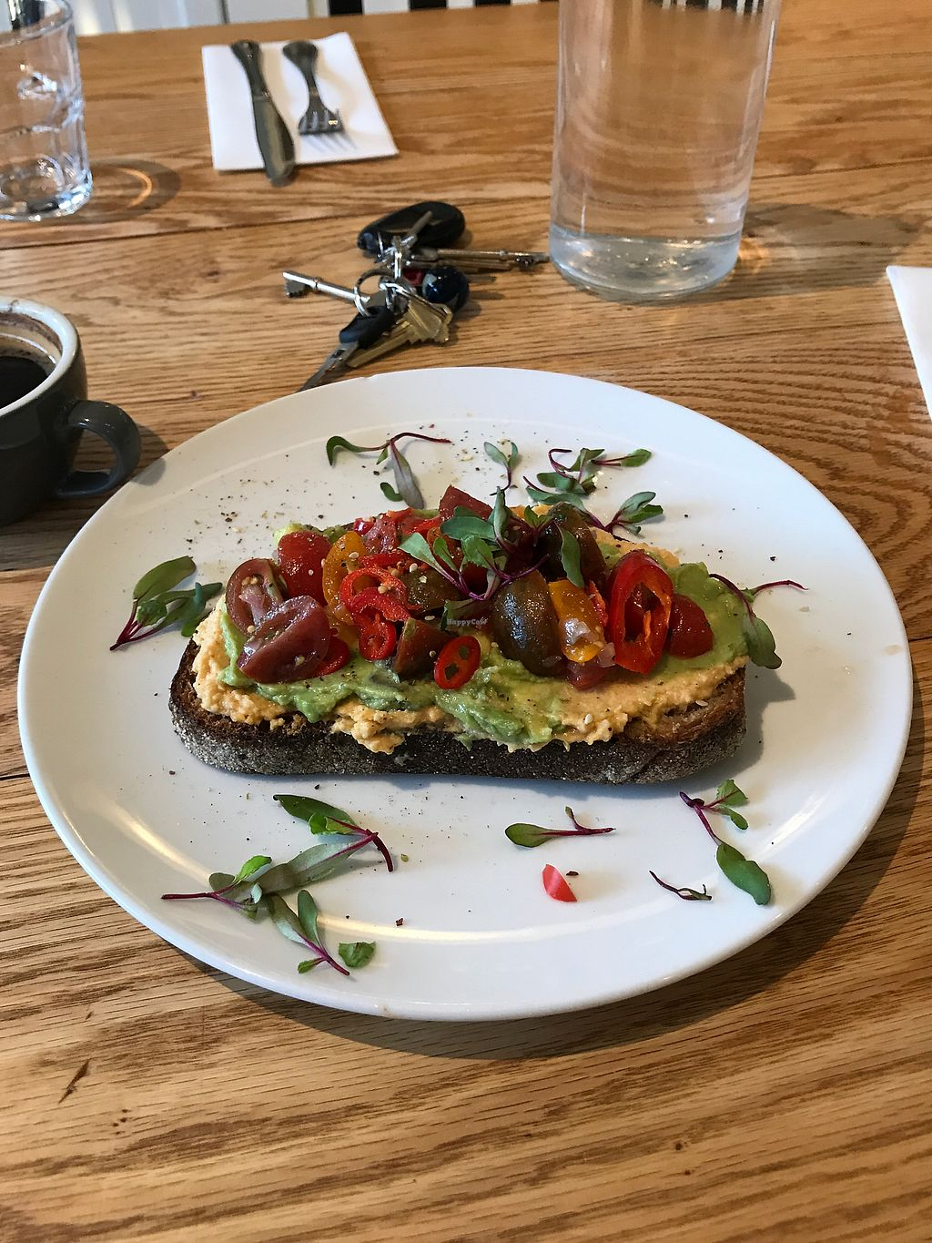 """Photo of Kerr Street Cafe  by <a href=""""/members/profile/Charliepenn"""">Charliepenn</a> <br/>Avocado toast <br/> November 12, 2017  - <a href='/contact/abuse/image/104925/324938'>Report</a>"""