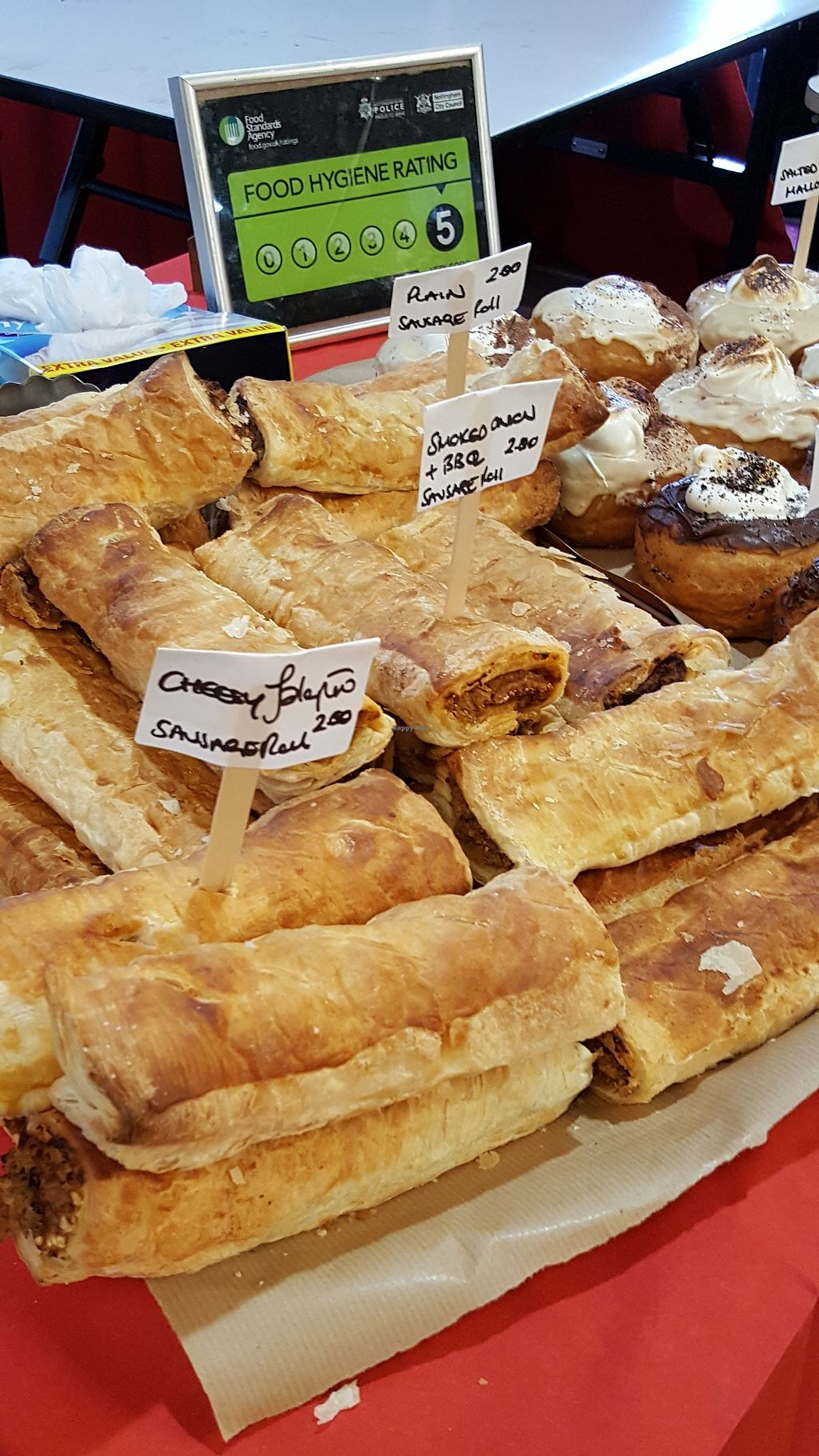 """Photo of VeganJunk  by <a href=""""/members/profile/Clare"""">Clare</a> <br/>'Sausage' rolls <br/> November 12, 2017  - <a href='/contact/abuse/image/104930/324866'>Report</a>"""
